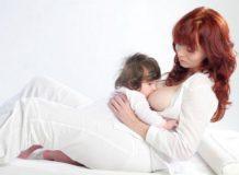 кормление грудью поза лицом к лицу