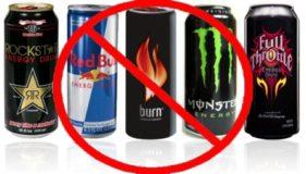 Отказаться от энергетических напитков
