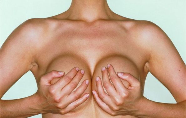 Улучшается структура груди
