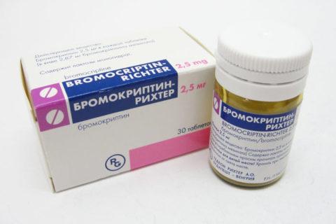 бромокриптин