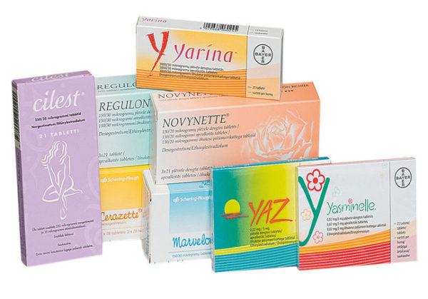 таблетки противозачаточные названия картинки