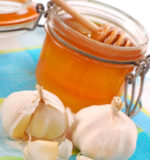мед и чеснок