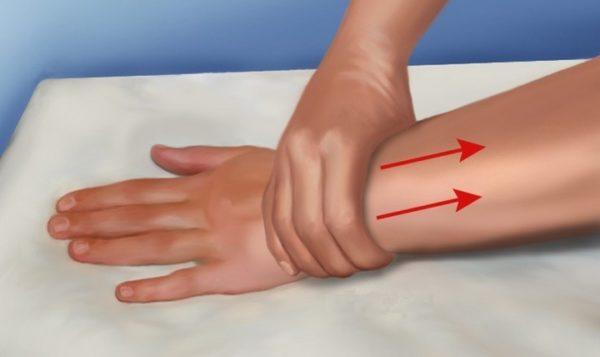 Лимфостаз пальца руки