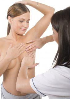 ручное обследование молочных желез