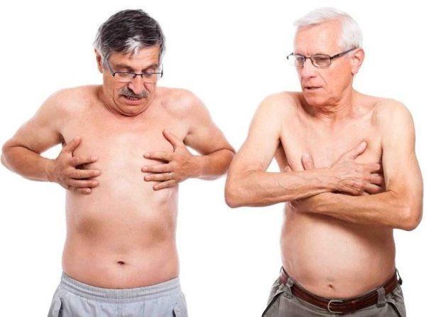мастопатия у мужчин