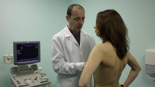 осмотр у врача маммолога