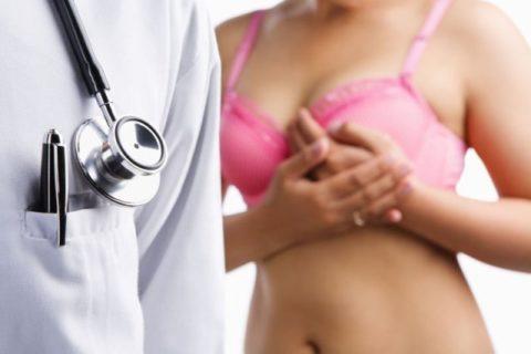 Исследование груди
