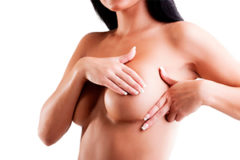 Пальпация груди