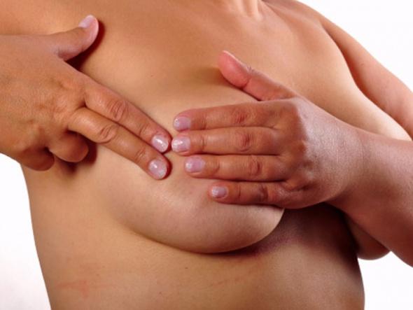 в груди развивается патологический процесс