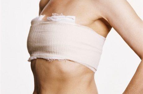 Перетягивание груди бинтами недопустимо