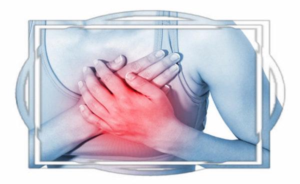 Болит грудь