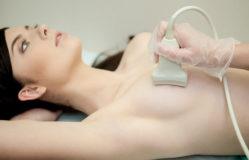Проверка груди ультразвуком