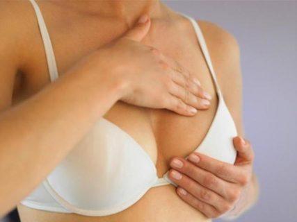 При приёме ОК грудь должна немного увеличиться в размерах