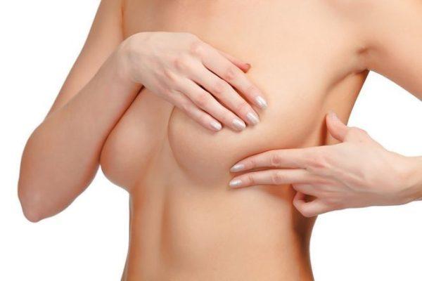 пальпация кисты у груди