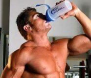 прием средств для мышц