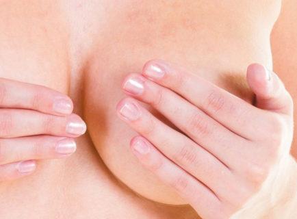Уплотнение тканей в груди