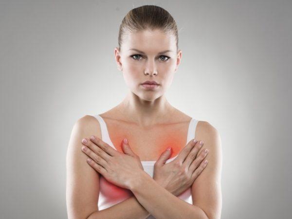 болит грудь перед месячными