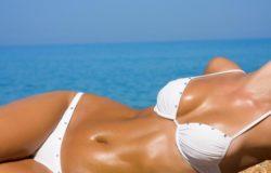 Воздействие солнца на грудь