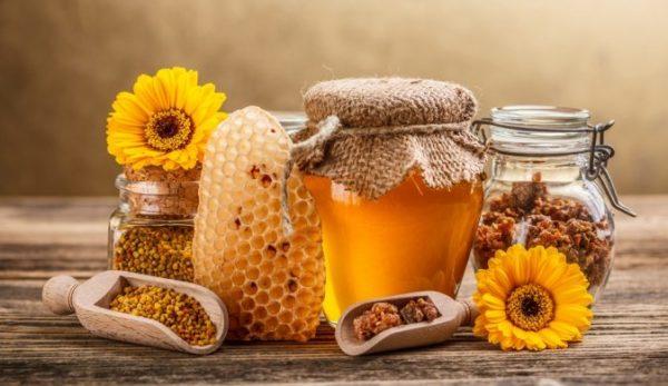 мед прополис пыльца