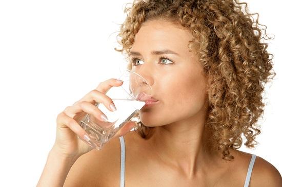 много пить воды