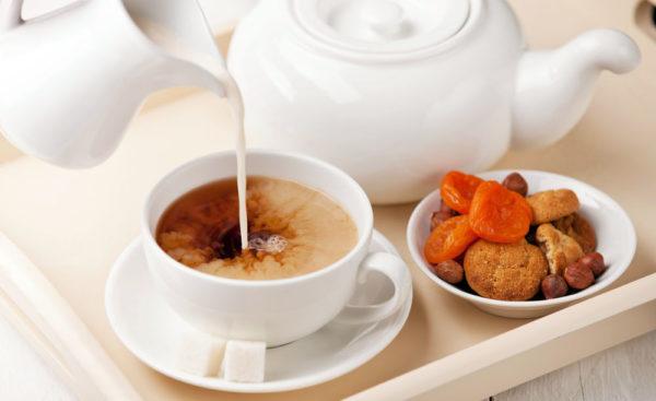 chai s molokom